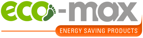 Eco-Max energy saving products logo, GW Energy
